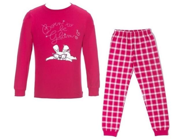 Dívčí pyžamo Wolf S2653 Růžové, vel. 160