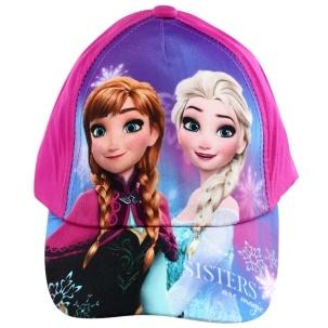 Fotografie Setino 771-405 Dětská dívčí kšiltovka Frozen tm. růžová, vel. 50