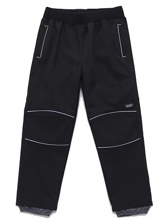 Dětské chlapecké softshellové kalhoty Wolf B2783 černé, vel. 104