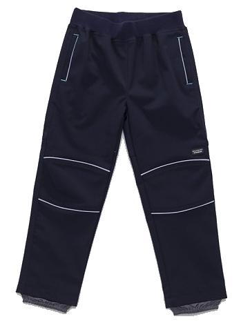 Dětské chlapecké softshellové kalhoty Wolf B2783 modré, vel. 110