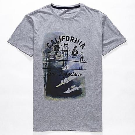 Dětské chlapecké tričko krátký rukáv Wolf S2703 šedé, vel. 140