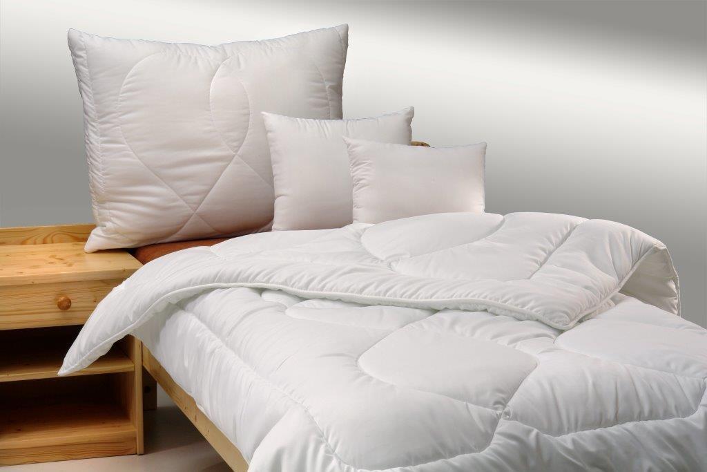 Brotex Písek Přikrývka Luxus Plus 140x200cm zimní 1300g + polštář Luxus plus 900g zip
