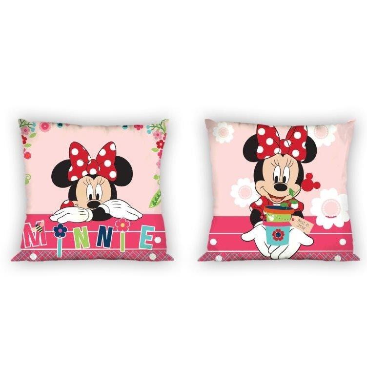 Faro Povlak na polštář bavlněný Minnie Mouse 018 40x40 cm