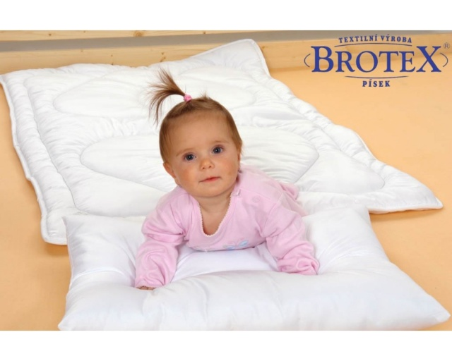 Brotex Písek Přikrývka dětská duté vlákno Thermo 90x135cm