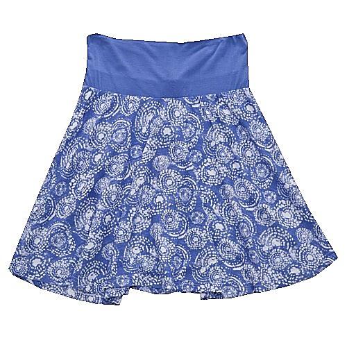 Dětská dívčí letní sukně Wolf S2716 modrá, vel. 158