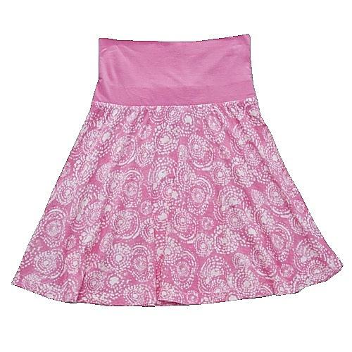 Dětská dívčí letní sukně Wolf S2716 růžová, vel. 134