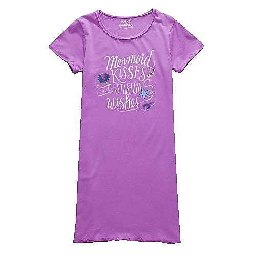 Dívčí noční košile Wolf S2758 fialová, vel. 140