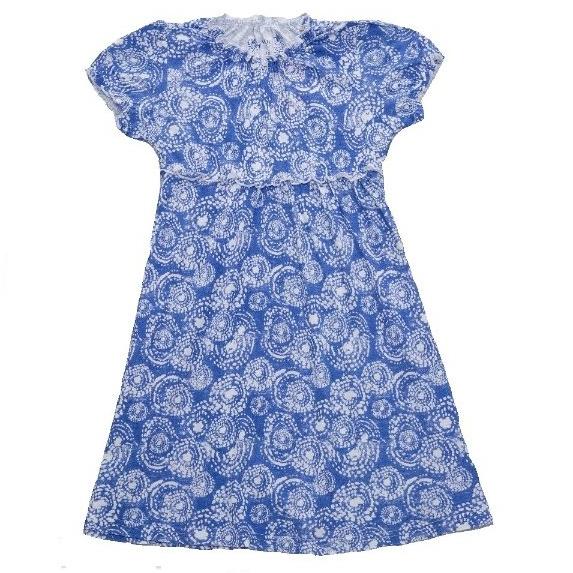 Dětské dívčí šaty Wolf S2715 modré, vel. 128