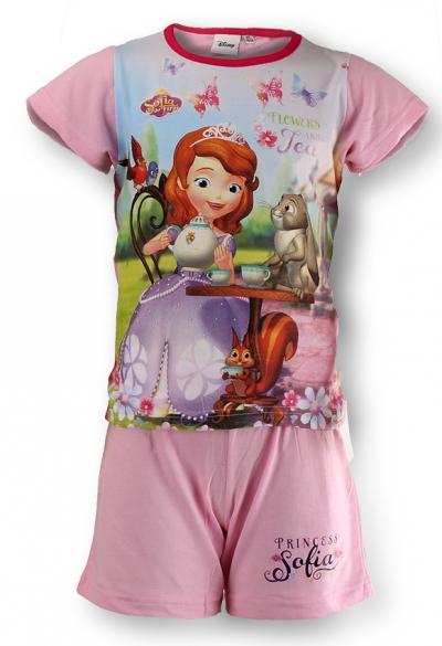 Dětské dívčí letní pyžamo Setino 831-129 Sofie světle růžové, vel. 104