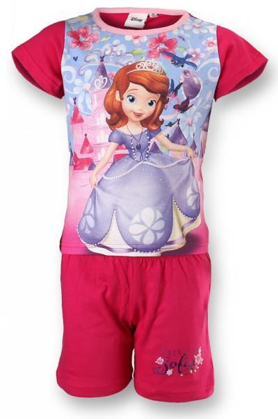 Dětské dívčí letní pyžamo Setino 831-129 Sofie tmavě růžové, vel. 110