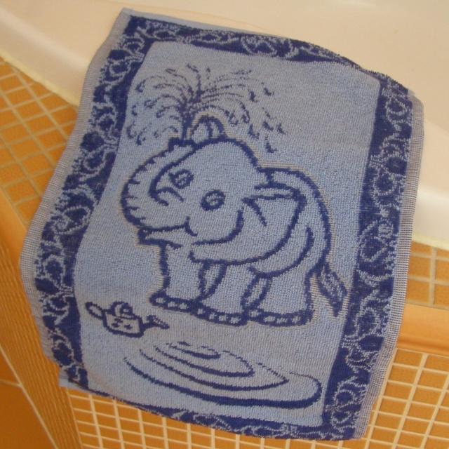 Brotex Dětský froté ručník 50x30cm Slůně modré