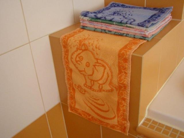 Brotex Dětský froté ručník 50x30cm Slůně oranžové