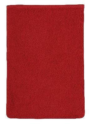 Bellatex Froté žínka 17x25 cm, červená