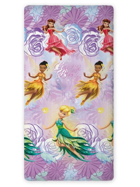 Faro Prostěradlo Fairies Beauty fialové bavlna 90x200 cm