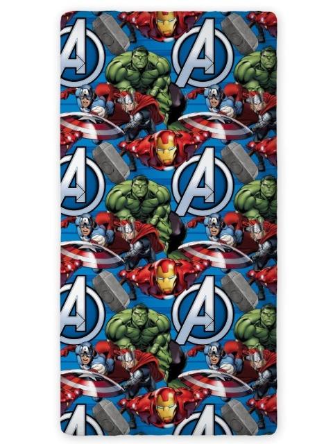 Faro Prostěradlo Avengers bavlna 90x200 cm