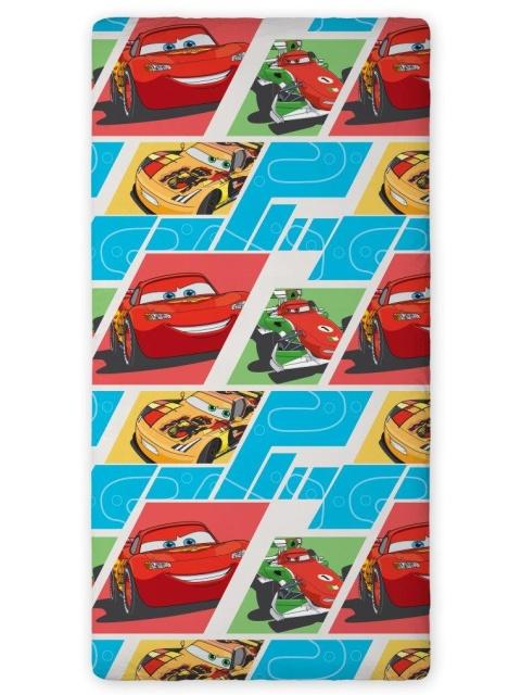 Faro Prostěradlo Cars 02 bavlna 90x200 cm