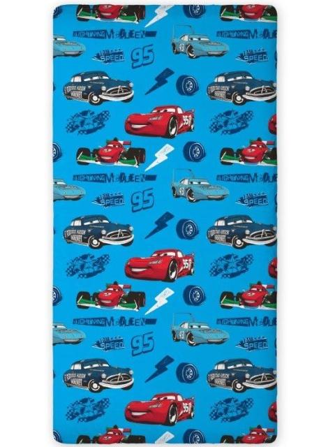 Faro Bavlněné prostěradlo Cars 011 90x200 cm
