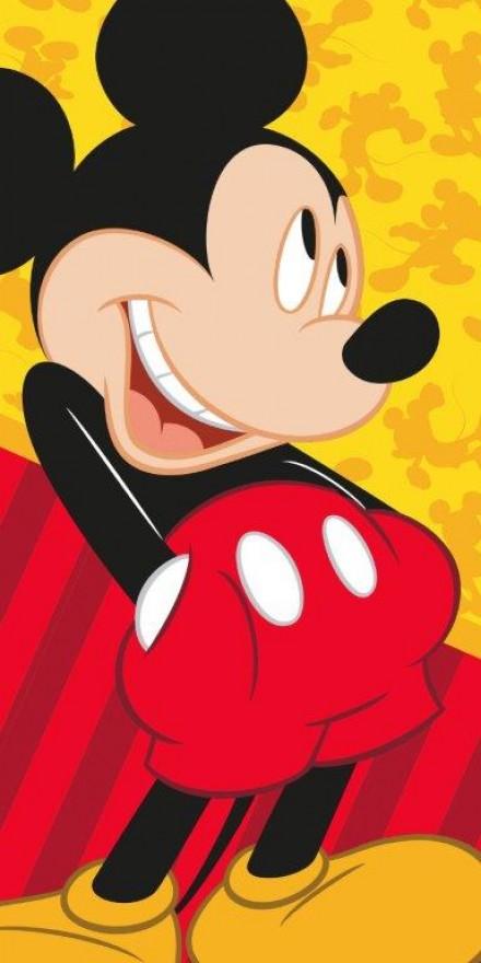 Faro Dětská osuška myšák Mickey 25 70x140 cm