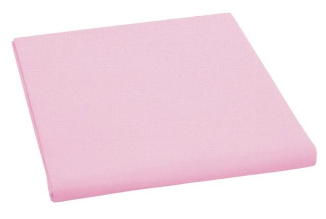 Brotex Prostěradlo bavlněné dvojlůžkové 240x230cm růžové