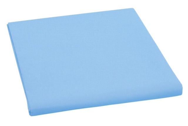 Brotex Prostěradlo bavlněné dvojlůžkové 240x230cm modré