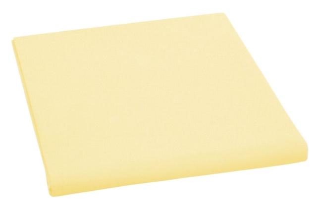 Brotex Prostěradlo bavlněné jednolůžkové 140x230cm světle žluté