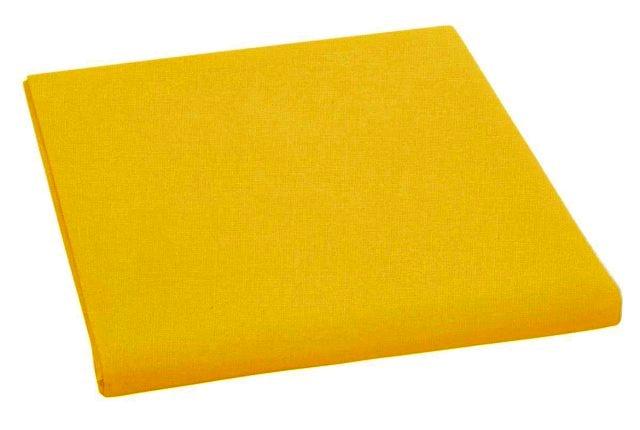 Brotex Napínací prostěradlo bavlněné 90x200cm sytě žluté