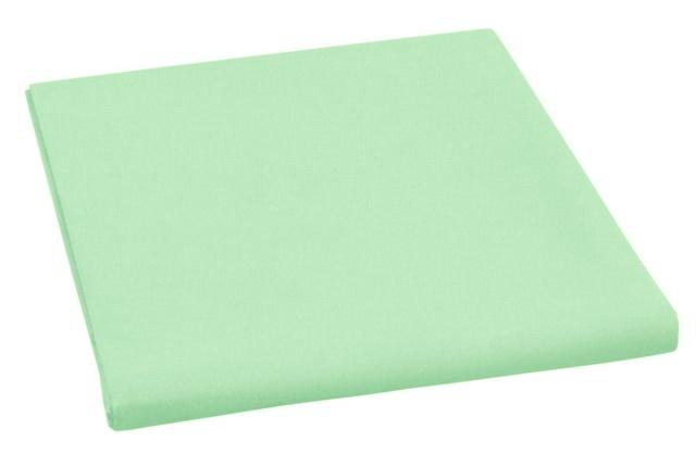 Brotex Napínací prostěradlo bavlněné 90x200cm zelené