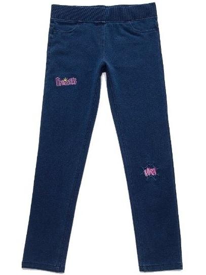 Dětské dívčí legíny jeans Wolf T2784 modré, vel. 128