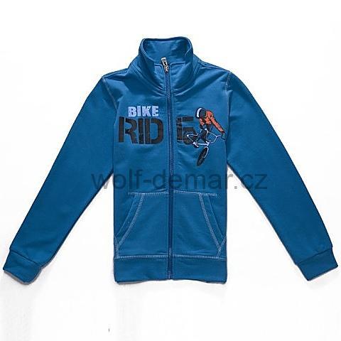 Dětská chlapecká mikina Wolf M2745 modrá 0119ef0a74