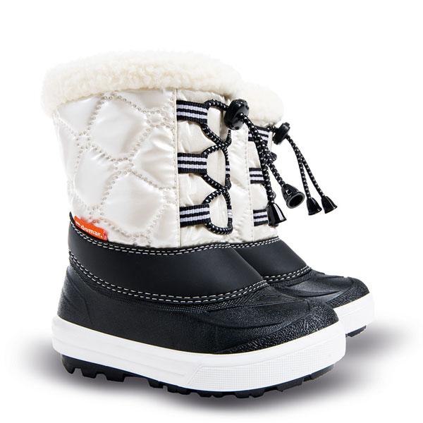 20ac29a0e57f Dětské sněhule Demar Furry 2 1500 C bílá 26 27