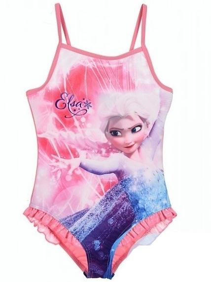 Dětské dívčí jednodílné plavky Sun City QE1803 Frozen růžové 1b8217124c