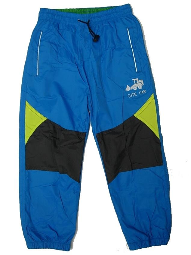 37e279acab8 Dětské šusťákové kalhoty Kugo K601 modrá