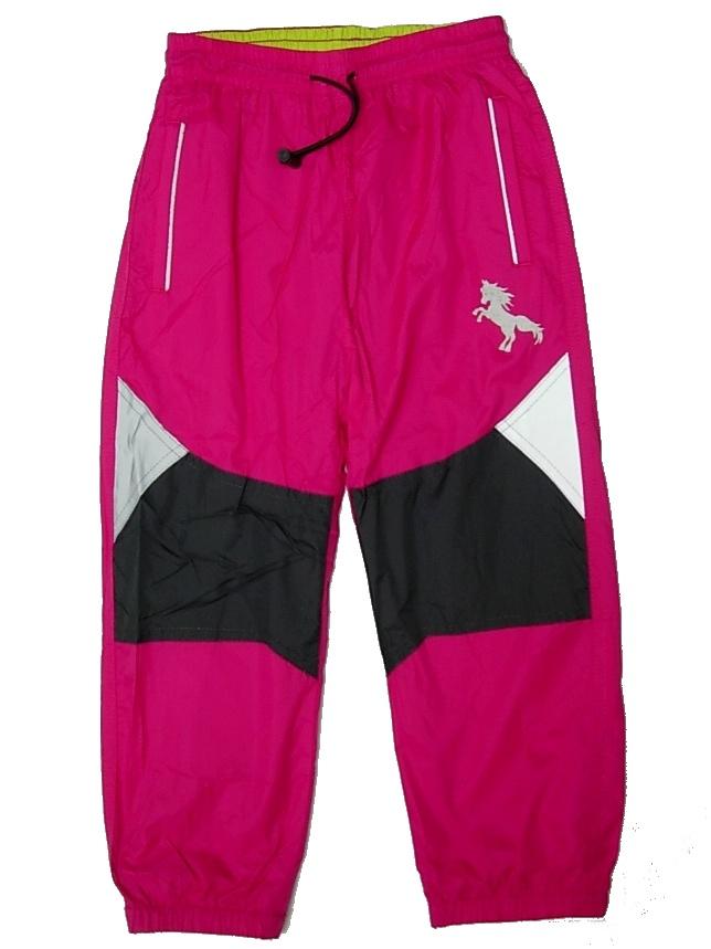 e520b11caa9 Dětské šusťákové kalhoty Kugo K601 růžové