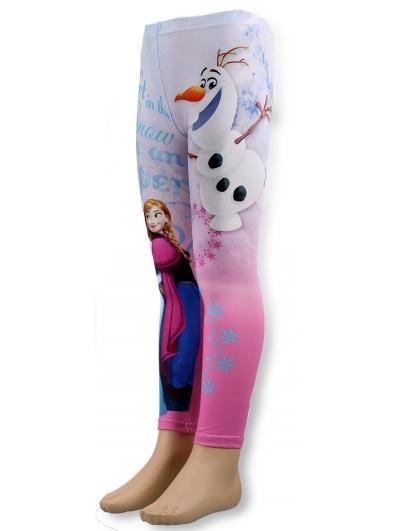 Dětské dívčí teplé legíny Setino 920-261 Frozen růžová 8eefb3a0aa