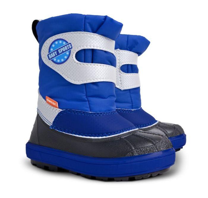 ad7287e5a Dětské sněhule Demar Baby Sports 1506 B modré 28/29