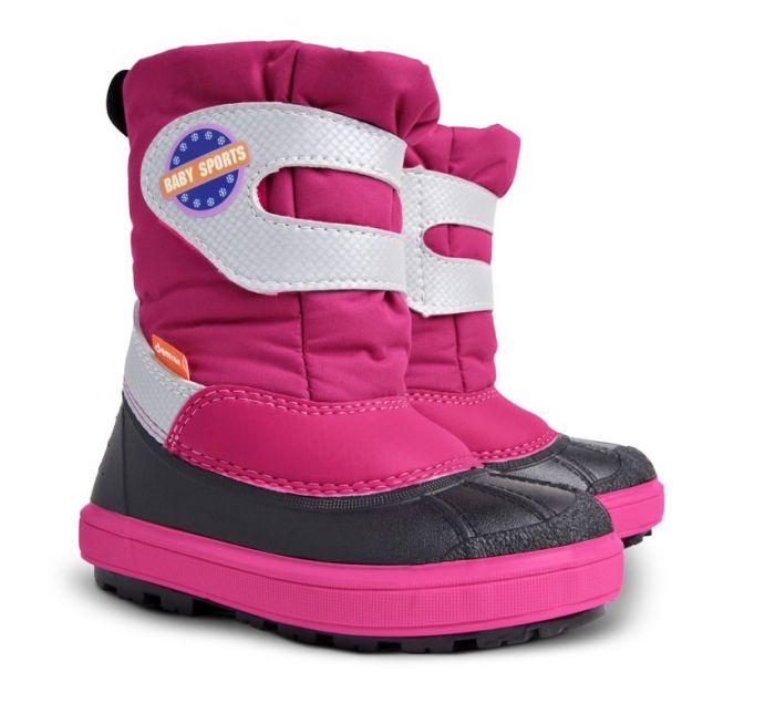 684620142 Dětské sněhule Demar Baby Sports 1506 A růžové