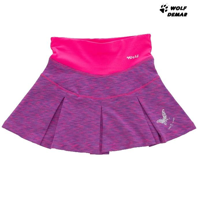 71cc9270993a Dětská dívčí sukně Wolf H2948 fialová