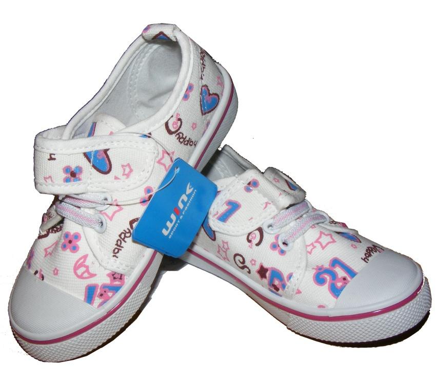 Dětské tenisky na suchý zip Wink CH010-1 a6d3b30018