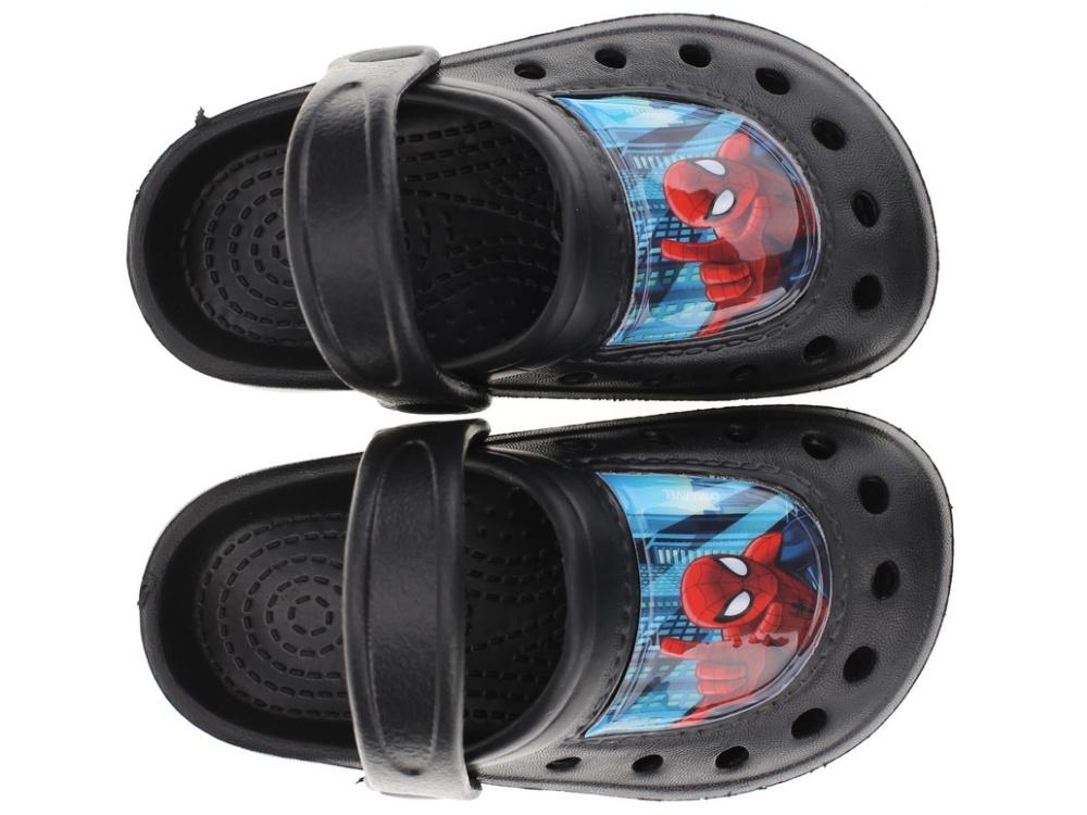 9906851f322 Dětské pantofle crocs Setino 870-197 Spiderman černá 25 26