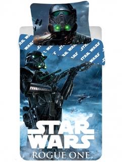 002f2712fe1 Dětské povlečení Star Wars Rogue One bavlna 140x200 + 70x90 cm
