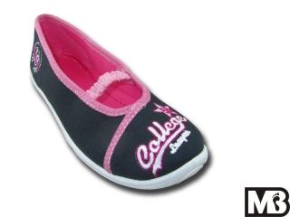 Dětská dívčí plátěná obuv MB Kids 728-A College f284a42e80