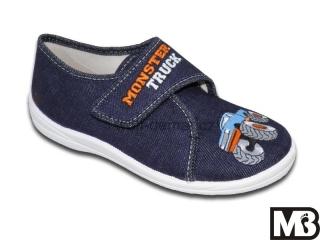 Dětská chlapecká plátěná obuv MB Kids 105 Monster Truck 2f8a1ec5f7