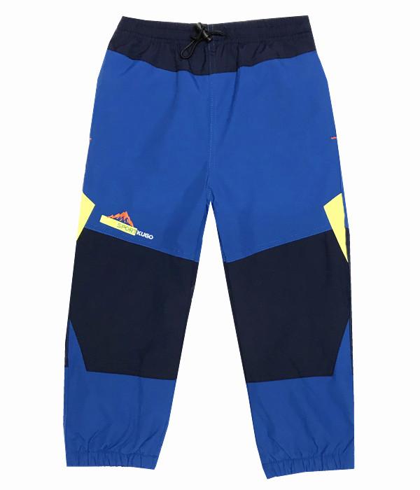 Dětské zateplené šusťákové kalhoty Kugo H201 tmavě modrá 110