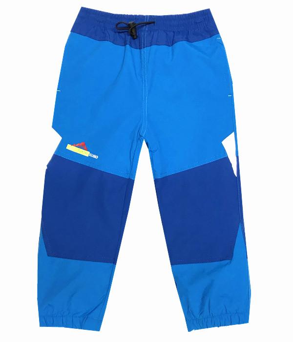 Dětské zateplené šusťákové kalhoty Kugo H201 světle modrá 110