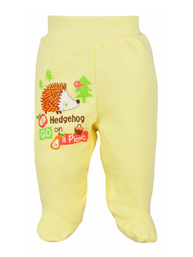 Kojenecké polodupačky Bobas Fashion Ježek žluté, vel. 68 68