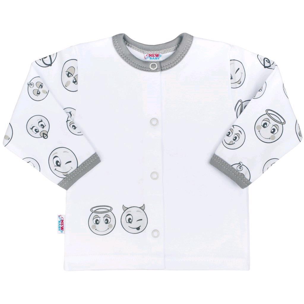 Kojenecký bavlněný kabátek New Baby Emotions, vel. 56