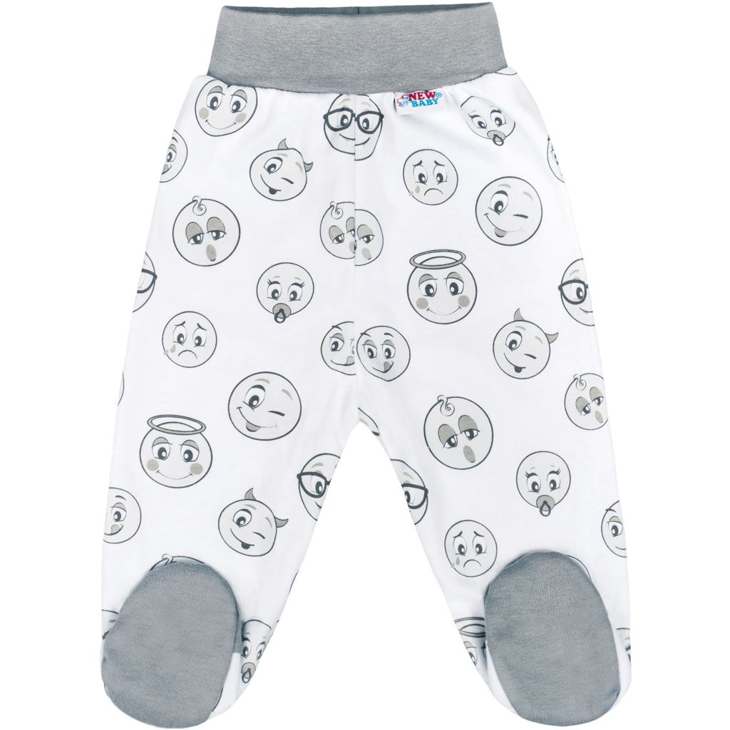 Kojenecké bavlněné polodupačky New Baby Emotions, vel. 68 68