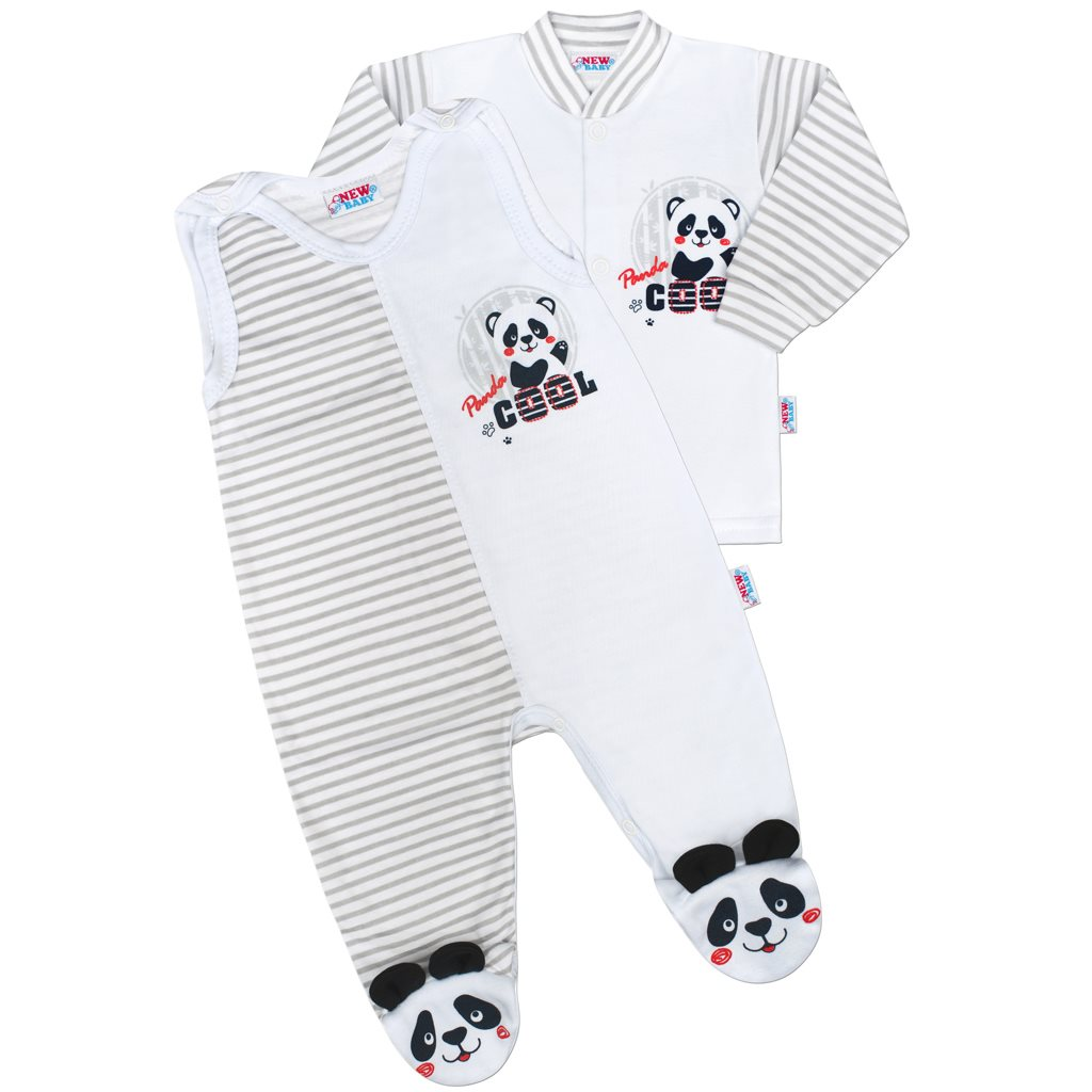 Kojenecká soupravička New Baby Panda 56