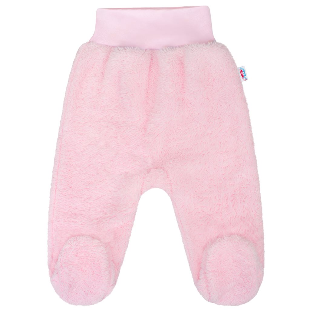 Zimní polodupačky New Baby Nice Bear růžové 56