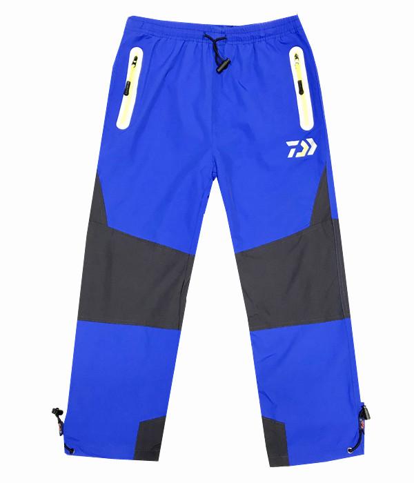 Dětské zateplené šusťákové kalhoty Kugo H202 světle modrá 110